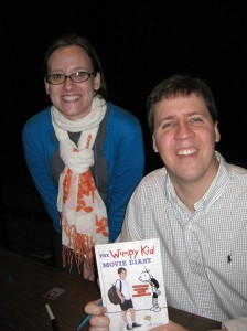 LibraryLea and Jeff Kinney